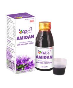 Siro PQA Amidan dùng cho người bị ho, viêm họng, viêm amidan